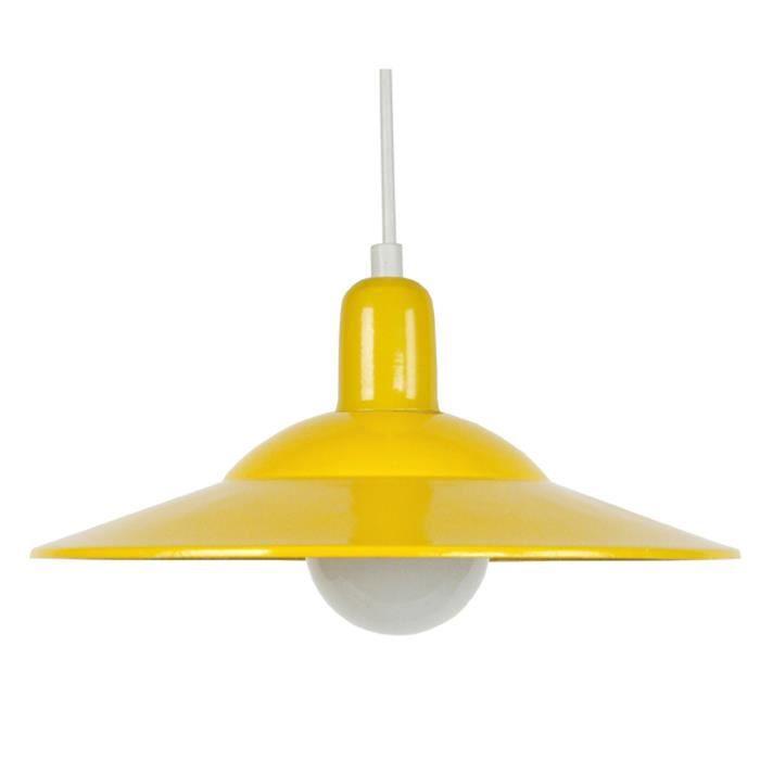 lodge suspension jaune achat vente lodge suspension jaune cdiscount. Black Bedroom Furniture Sets. Home Design Ideas