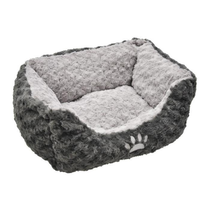 vadigran panier fleece modern pour chien gris 60 x 48cm achat vente corbeille coussin. Black Bedroom Furniture Sets. Home Design Ideas