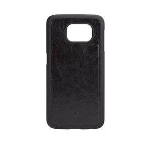 Coque XQISIT iPlate Eman Samsung Galaxy S6 Noir