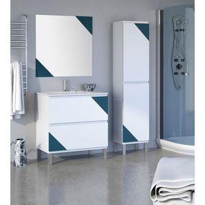 Meuble sous lavabo avec pied achat vente meuble sous lavabo avec pied pas - Salle de bain complete ...