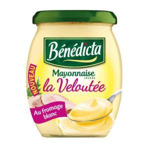 Bénédicta Mayonnaise Veloutée Bocal 240g(envoi rapide et Soignée)