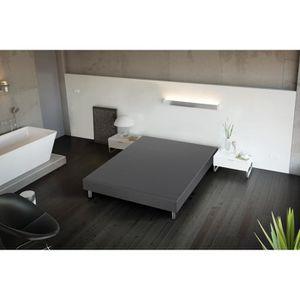 sommier tapissier 140x190 achat vente sommier tapissier 140x190 pas cher cdiscount. Black Bedroom Furniture Sets. Home Design Ideas