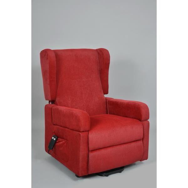 fauteuil releveur 2 moteurs kairouan grenat achat vente fauteuil gris cdiscount. Black Bedroom Furniture Sets. Home Design Ideas