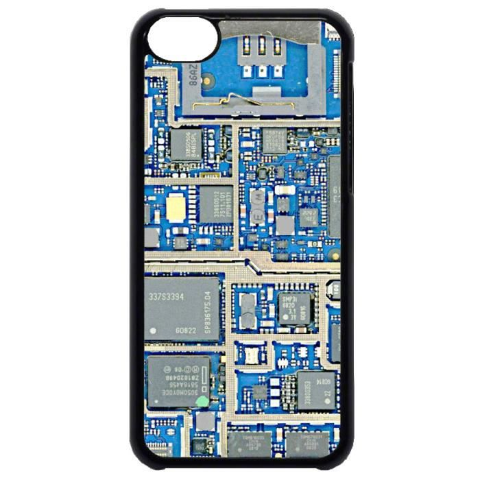 coque iphone 5c carte m re motherboard achat coque. Black Bedroom Furniture Sets. Home Design Ideas