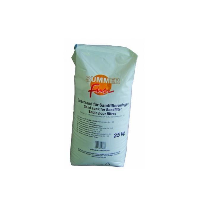 Sable pour filtre de 25kg achat vente pompe filtration sable pour filtr - Verre pour filtre a sable ...