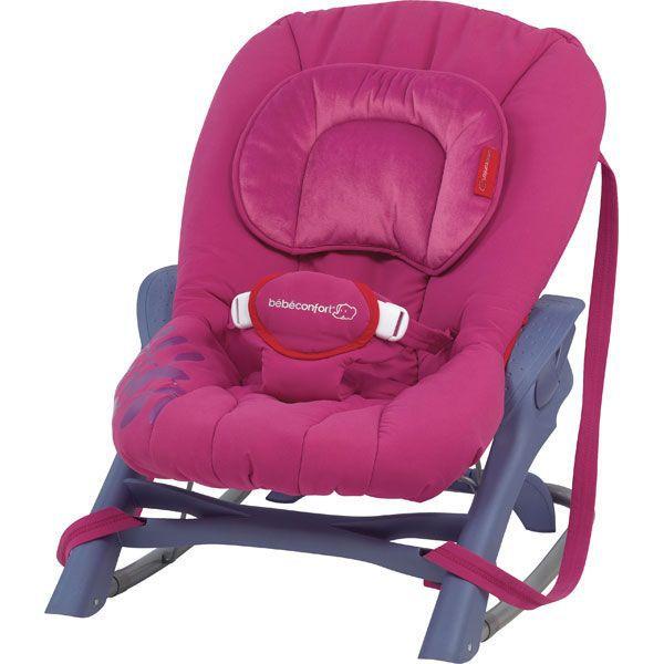 transat balancelle bebe confort evolution 2 rose achat. Black Bedroom Furniture Sets. Home Design Ideas
