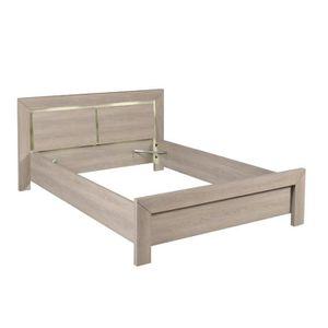 tete de lit en bois clair achat vente tete de lit en bois clair pas cher cdiscount. Black Bedroom Furniture Sets. Home Design Ideas