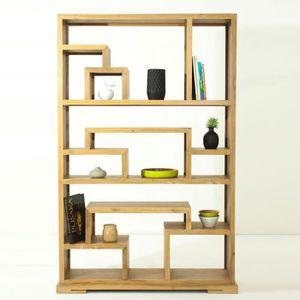 etageres en teck achat vente etageres en teck pas cher cdiscount. Black Bedroom Furniture Sets. Home Design Ideas