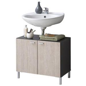 meuble sous vasque chene achat vente meuble sous vasque chene pas cher cdiscount. Black Bedroom Furniture Sets. Home Design Ideas