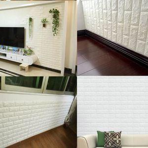 papier peint brique achat vente papier peint brique pas cher cdiscount. Black Bedroom Furniture Sets. Home Design Ideas