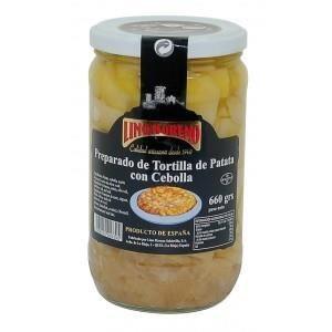 PLAT LÉGUMES - FÉCULENT Préparation pour tortilla pommes de terres oignons