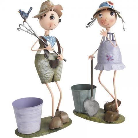 cache pot personnage achat vente jardini re pot fleur cache pot personnage cdiscount. Black Bedroom Furniture Sets. Home Design Ideas