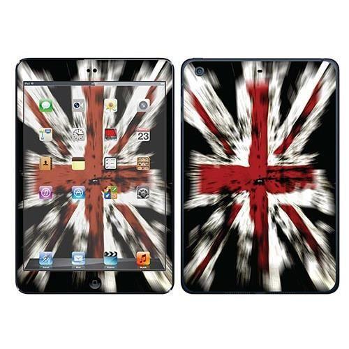 skin stickers pour apple ipad mini 2 sticker drapeau anglais avec effet prix pas cher. Black Bedroom Furniture Sets. Home Design Ideas