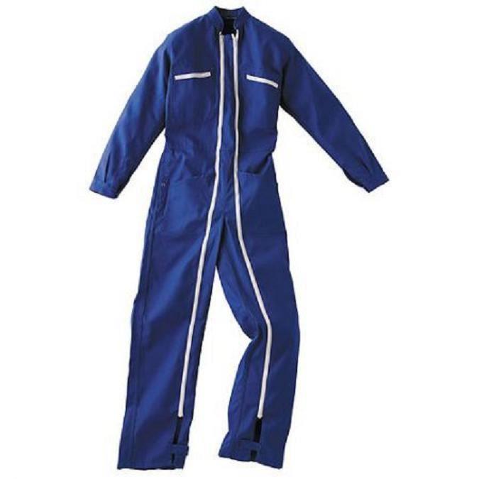 Combinaison 2 zip coton bleu bugatti achat vente v tement de protection - Bleu de travail castorama ...