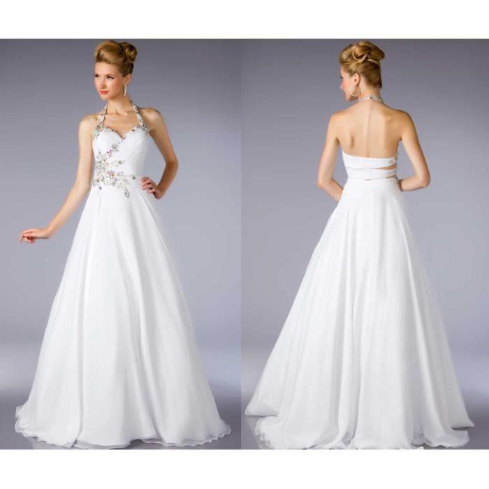 ... longue robe de bal A-ligne - Achat / Vente robe de mariée - Cdiscount