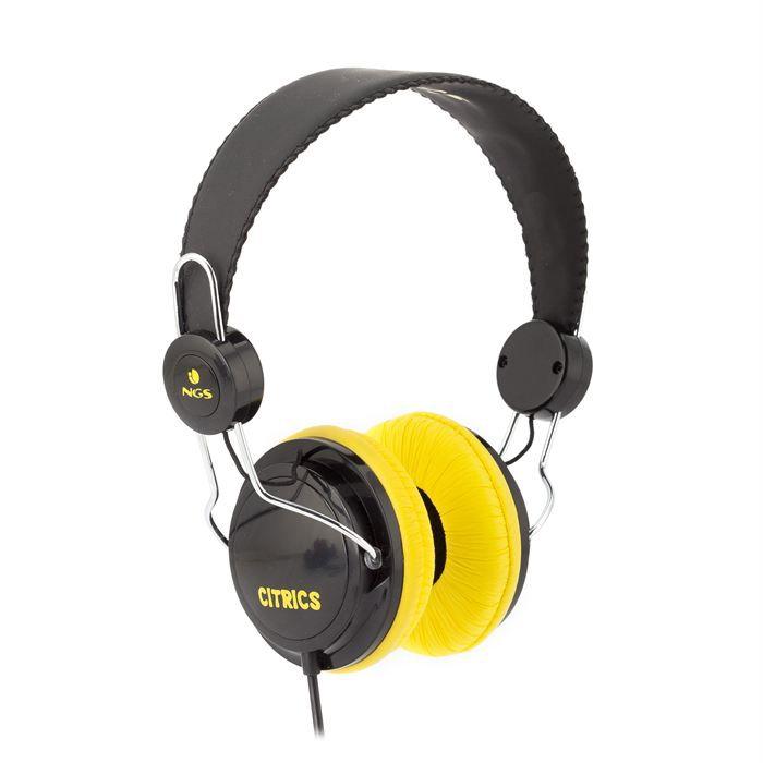 NGS Casque audio citrics casque écouteur, prix pas cher
