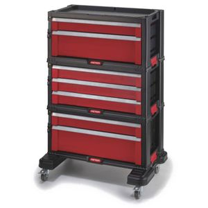 servante 7 tiroirs achat vente servante 7 tiroirs pas cher cdiscount. Black Bedroom Furniture Sets. Home Design Ideas