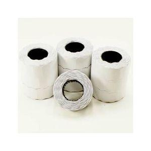 Étiquette classement 10 rouleaux de 800 étiquettes 22x12mm, compatibles