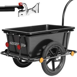 REMORQUE VÉLO Remorque de vélo avec barre d'attelage - 90 Litres