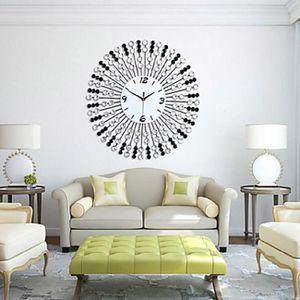 Grande horloge en fer achat vente grande horloge en fer pas cher cdiscount for Pendule murale grande taille