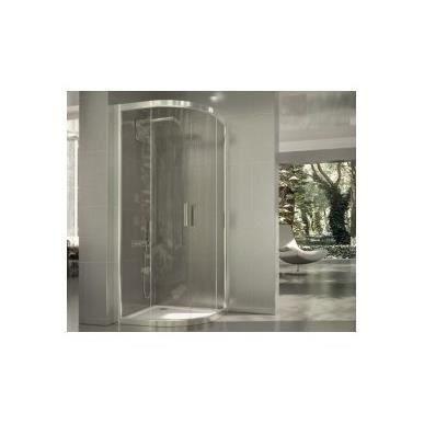 cabine de douche arrondie delia seviban 80 x 80 cm transparent achat vente cabine de douche. Black Bedroom Furniture Sets. Home Design Ideas