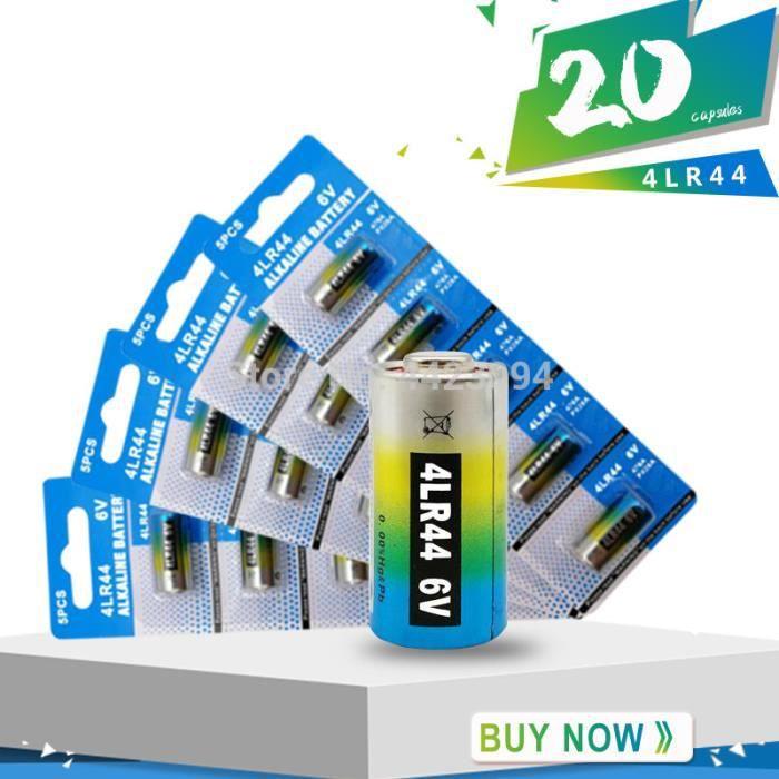20 pile alcaline 4lr44 6v collier anti aboiement achat. Black Bedroom Furniture Sets. Home Design Ideas