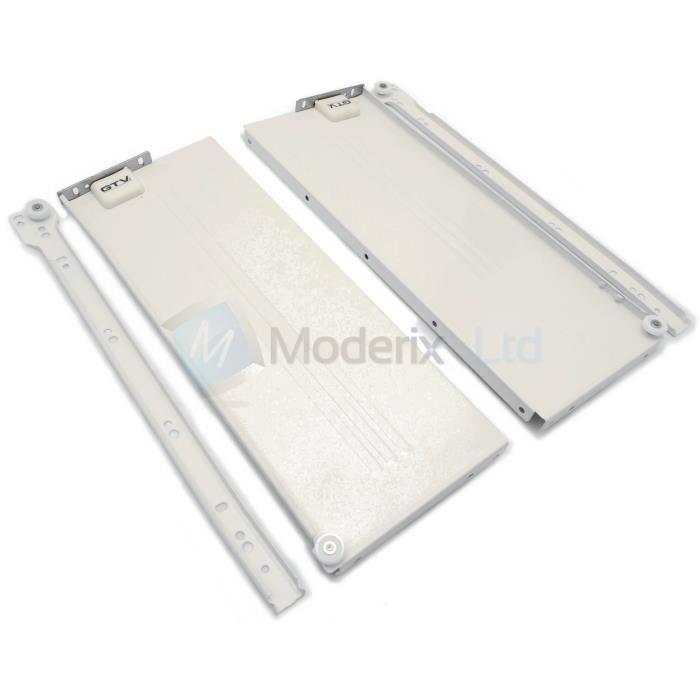 rails coulissant tiroirs tiroir montage h 86mm achat vente compas cremaillere. Black Bedroom Furniture Sets. Home Design Ideas
