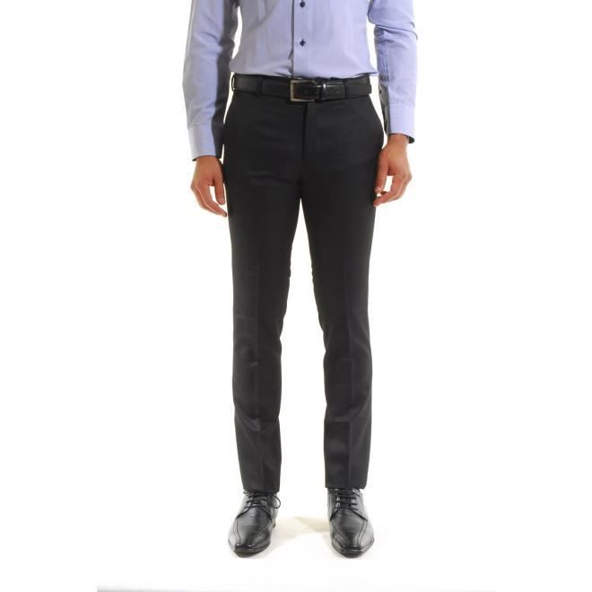 pantalon classique homme habill noir achat vente pantalon cdiscount. Black Bedroom Furniture Sets. Home Design Ideas
