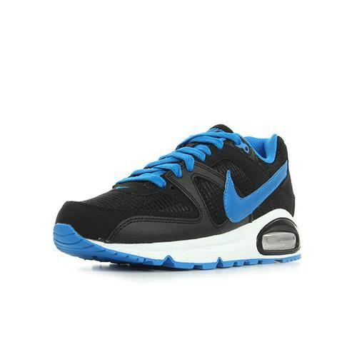 nike air max command noir et bleu