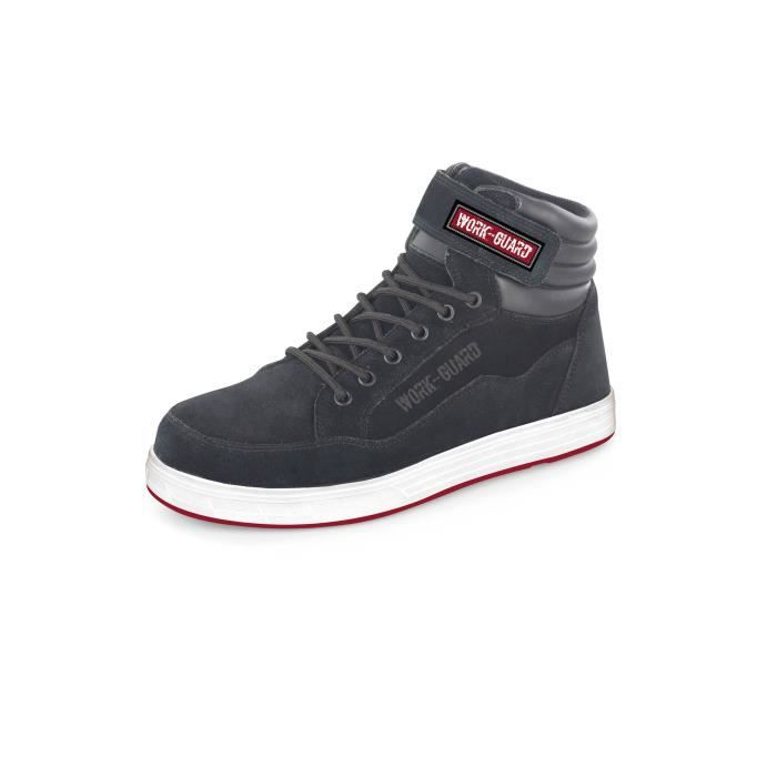 chaussures de securite reflect work guard en iso 20345 2011 s1p black achat vente. Black Bedroom Furniture Sets. Home Design Ideas