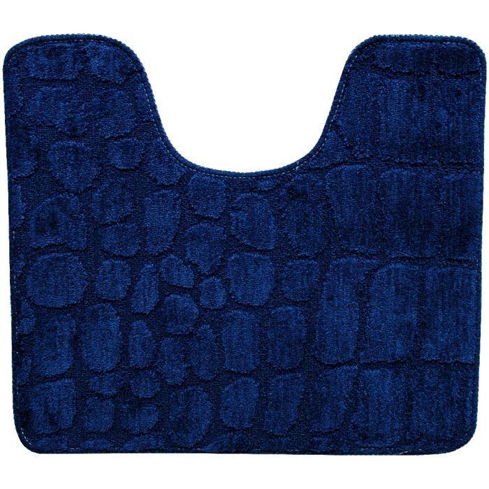 tapis contour wc toilette lavabo tendance croco ch achat. Black Bedroom Furniture Sets. Home Design Ideas