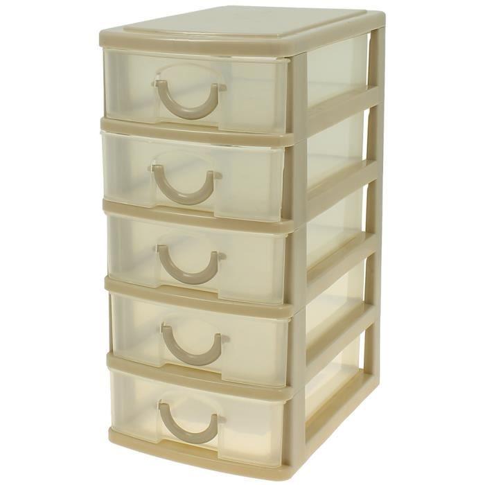 Mini armoire de poche bloc de rangement 5 tiroi achat vente petit meuble - Cdiscount armoire de rangement ...