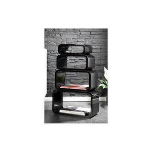 etagere cubes design achat vente etagere cubes design pas cher cdiscount. Black Bedroom Furniture Sets. Home Design Ideas