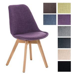CHAISE CLP Chaise de visiteur BORNEO de design rétro, rev