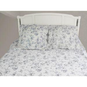 couvre lit matelasse 240x260 achat vente couvre lit matelasse 240x260 pas cher cdiscount. Black Bedroom Furniture Sets. Home Design Ideas