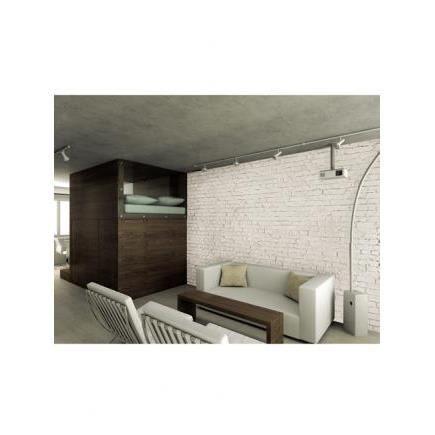 mur de briques blanches affiche murale achat vente affiche cdiscount. Black Bedroom Furniture Sets. Home Design Ideas