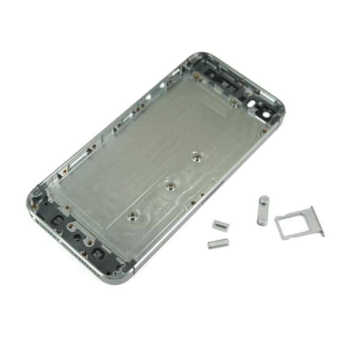 coque arri re chassis iphone 5s gris sideral achat. Black Bedroom Furniture Sets. Home Design Ideas