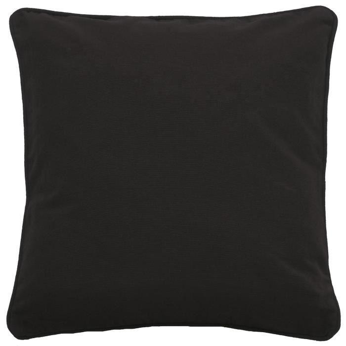 housse de coussin java 50x50 cm bordeaux achat vente housse de coussin cdiscount. Black Bedroom Furniture Sets. Home Design Ideas