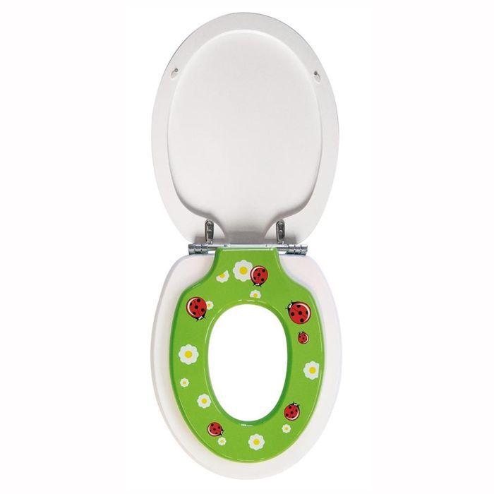 Gelco design double tandem r ducteur achat vente - Abattant wc avec reducteur integre ...
