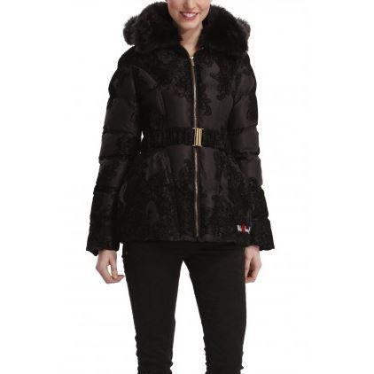 manteau doudoune desigual quilme noir achat vente. Black Bedroom Furniture Sets. Home Design Ideas