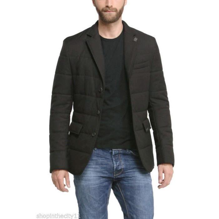 veste manteau desigual homme acolchado noir achat. Black Bedroom Furniture Sets. Home Design Ideas