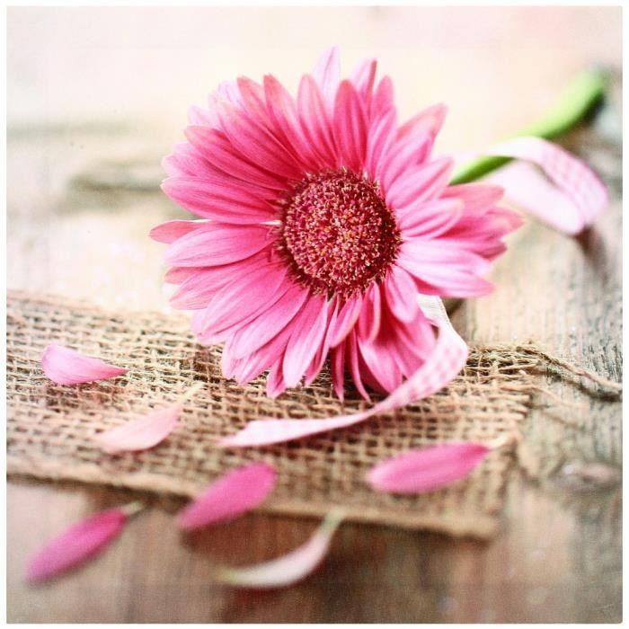 TABLEAU , TOILE Tableau Toile Cadre Zen Fleur Rose Sol Loft Fil\u2026