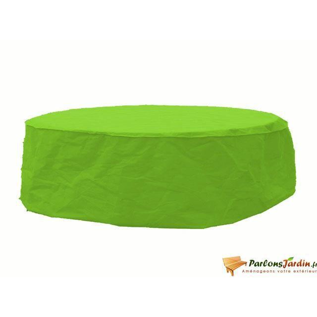 Housse de protection pour table 230cm vert anis for Housse de coussin vert anis