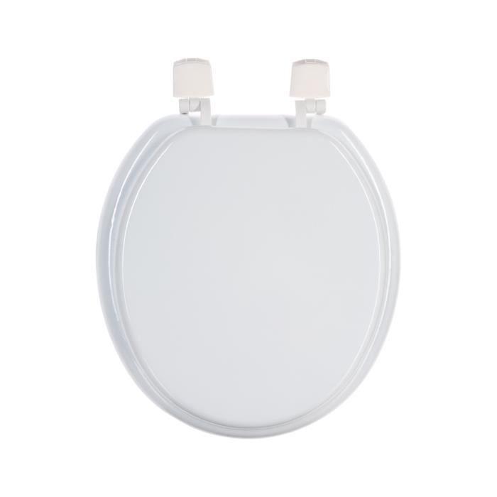 abattant wc blanc achat vente abattant wc abattant wc blanc cdiscount. Black Bedroom Furniture Sets. Home Design Ideas