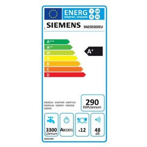 Siemens SN25D202EU Lave-Vaisselle
