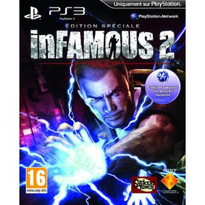 JEU PS3 INFAMOUS 2 EDITION COLLECTOR / Jeu console PS3