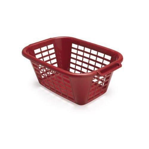 addis panier linge rectangulaire 40 litres rouge. Black Bedroom Furniture Sets. Home Design Ideas