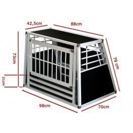 cage n 48 de transport pour chien aluminium achat. Black Bedroom Furniture Sets. Home Design Ideas