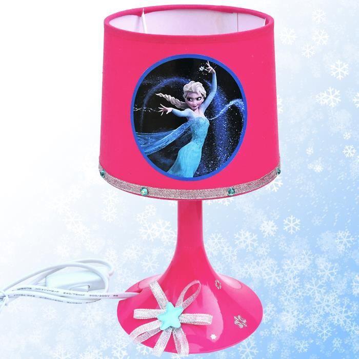 kikoucat reine des neiges lampe de chevet achat vente kikoucat reine des neiges. Black Bedroom Furniture Sets. Home Design Ideas