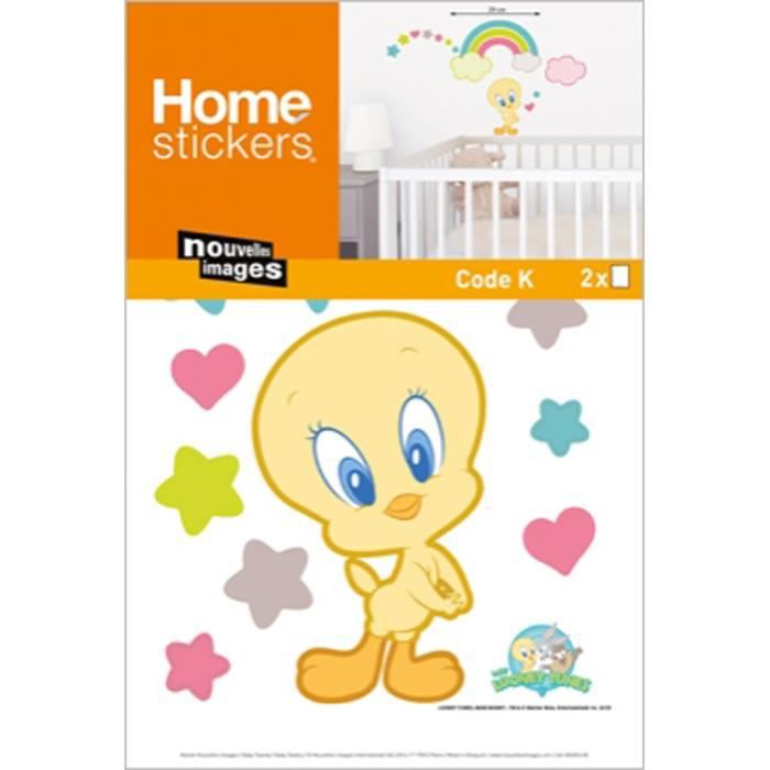 Stickers muraux ou pour les meubles bebe titi be achat vente stickers - Stickers muraux cdiscount ...